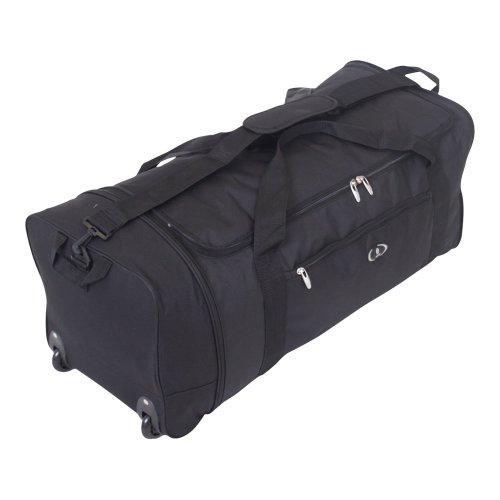 gro e reisetasche mit rollen kabinenkoffer reisegep ck. Black Bedroom Furniture Sets. Home Design Ideas