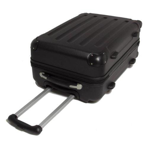 farbauswahl 3 tlg reisekofferset koffer kabinenkoffer. Black Bedroom Furniture Sets. Home Design Ideas
